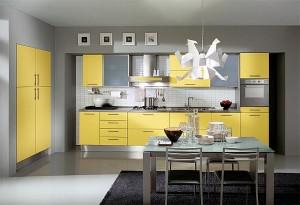 Стилна-кухня-в-жълто